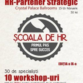 Conferinţa naţională: Şcoala de HR